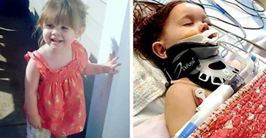 2-Jährige lebensgefährlich verletzt – Unbekannter schießt ihr mit Luftgewehr in den Kopf