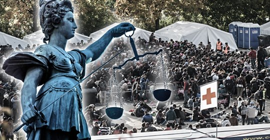 """Deutsche Asyl-Richter haben das Gefühl """"für den Papierkorb zu arbeiten"""""""