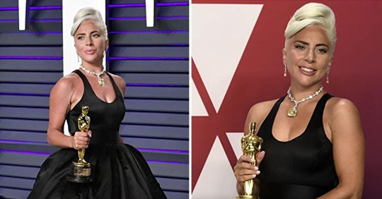 Lady Gaga ist die erste Person in der Geschichte, die 4 große Auszeichnungen in einem einzigen Jahr gewonnen hat