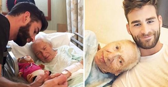 31 jähriger Mann erlaubte seiner 89 jährigen kranken Nachbarin, bei ihm einzuziehen: Enkel, den sie nie hatte