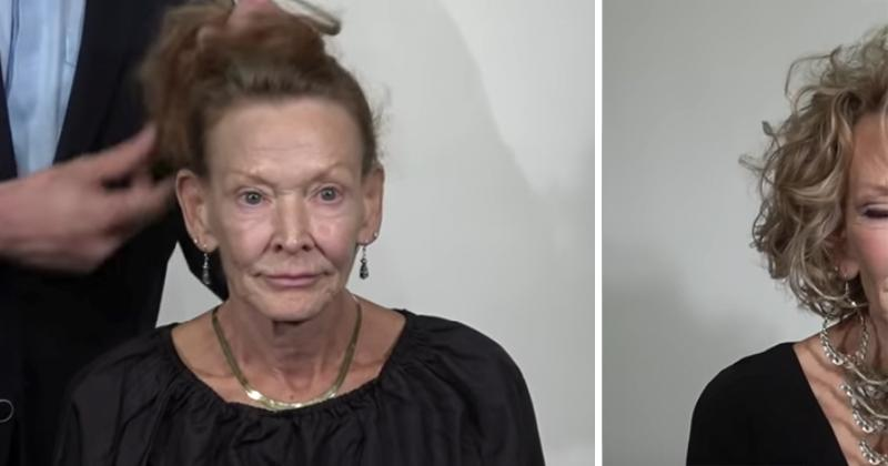 Eine 69-Jährige bekommt ein atemberaubende Rundumerneuerung für einen frischen neuen Look, der sie 20 Jahre jünger aussehen lässt