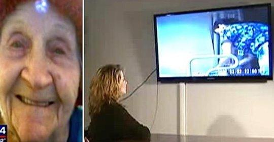 Eine Großmutter fällt immer wieder aus dem Rollstuhl, so dass die Familie eine Kamera installiert, um herauszufinden, ob die Krankenschwestern lügen