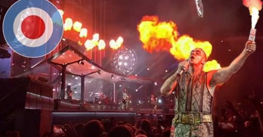 Rammstein: Feuer-Inferno im Ernst-Happel-Stadion