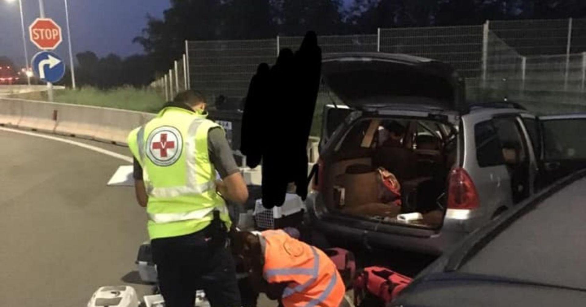 Strenger Geruch aus Auto in Österreich: Es war ein Horror Einsatz!