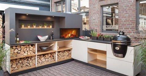 Wenn Sie diese 8 wunderschönen Außenküchen sehen, möchten Sie bestimmt direkt auch eine haben!