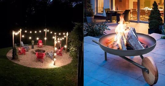 Haben Sie schon einen schönen Feuerkorb oder eine Feuerstelle in Ihrem Garten? Dies ist einfach ein herrliches und gemütliches Ereignis in den kühleren Abenden.