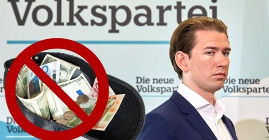 Ist die ÖVP pleite? Die Party Partei soll an maroden Finanzen kranken