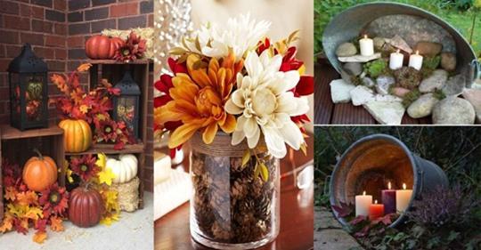 Klassische Dekorationsideen, um Ihnen Inspiration für die kommende Herbstsaison zu geben!