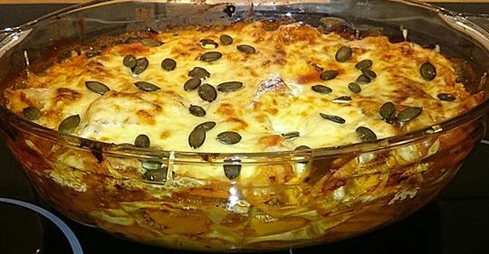Feine Kürbis-Lasagne