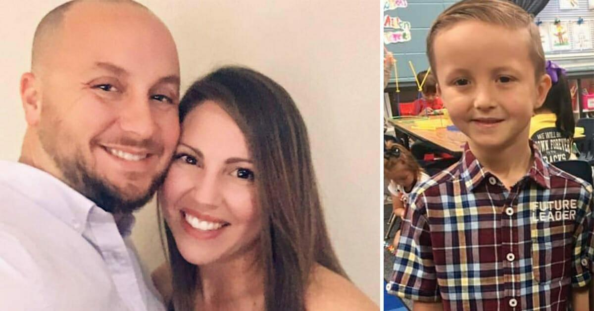 Vorschüler erzählt seiner Mama, dass er einen Zwillingsbruder hat – Foto der beiden rührt sie zu Tränen