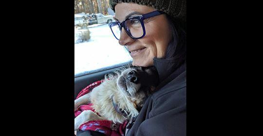 Hund wird von seiner Familie im Schnee angekettet & einmal pro Woche gefüttert – Frau nimmt ihn auf