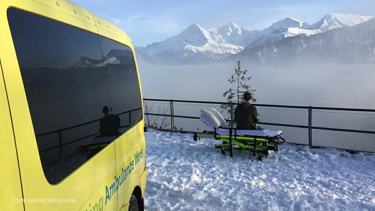 Sein letzter Wunsch: Todkranker 19 Jähriger darf ein letztes Mal die Berge sehen