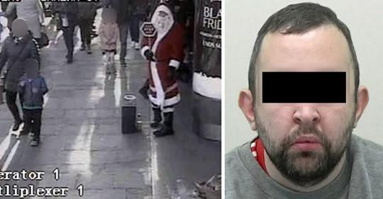 Verurteilter Pädophiler verkleidet sich als Weihnachtsmann und will Fotos mit Kindern – Polizei ermittelt