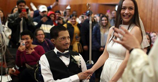 Herzkranker Bräutigam heiratet seine große Liebe – und stirbt wenige Tage später