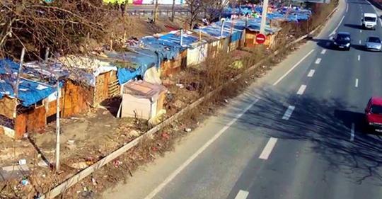 Paris hilflos gegen illegale Migrantencamps