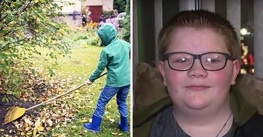 Eine Mutter kann keinen Grabstein für die Beerdigung des Sohnes kaufen, bis sein 12-jähriger bester Freund .500 (€2.250) an Spenden sammelt
