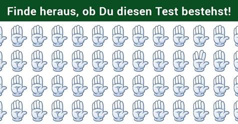 Niemand kann diesen Test lösen - Finde heraus, ob Du die aus der Reihe fallenden Symbole entdecken kannst