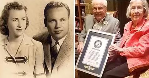 Ein 106-jähriger Mann und seine 105-jährige Ehefrau erreichen den Weltrekord als ältestes lebendes Paar
