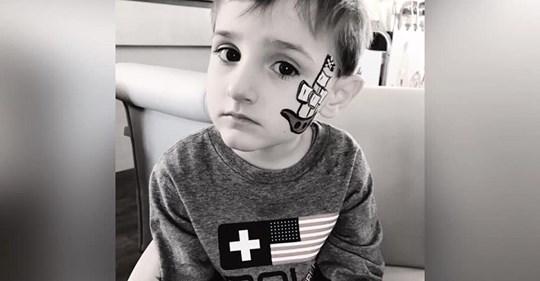 'Er ist jetzt an einem besseren Ort, ohne Schmerzen': Elliot (5) ist tot