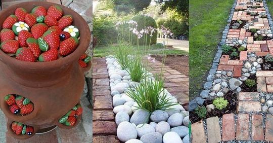 Kreativ in Ihrem Garten! Diese 13 Inspirationen bringen Sie sicher auf eine Idee!