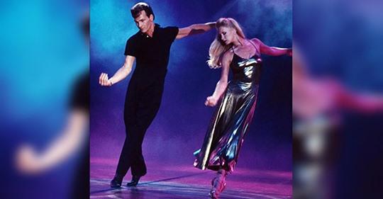 Vor 22 Jahren tanzten Patrick Swayze und seine Frau zusammen und rührten damit Millionen zu Tränen