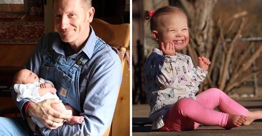 Gott macht keine Fehler: Vater schreibt bewegenden Text über seine Tochter mit Down-Syndrom