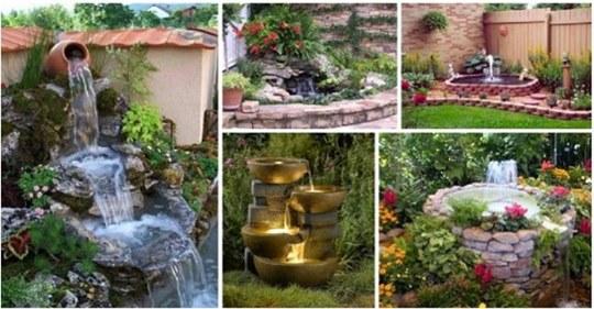 Wollten Sie schon immer einen Brunnen oder Teich in Ihrem Garten haben? Schauen Sie sich diese fantastischen Beispiele an!