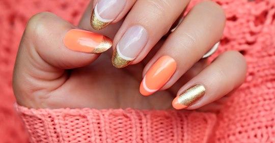 Double French Nails: Wir lieben diesen neuen Maniküre-Trend!