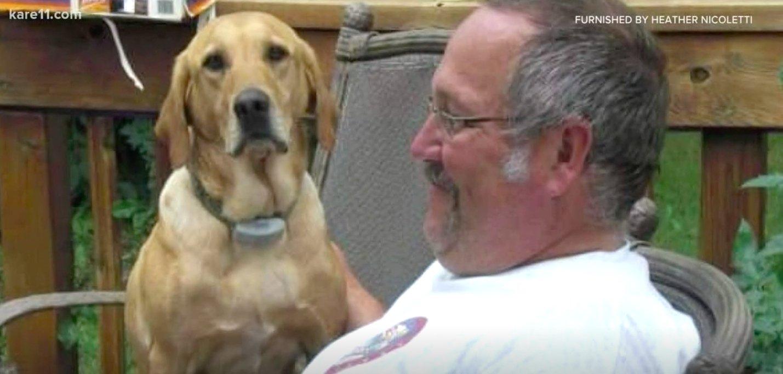 Ein Feuerwehrmann erliegt Stunden nach dem Tod seines geliebten Hundes einem Krebsleiden