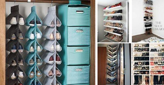 Viele Schuhe? Die besten Ideen und Lösungen, um Ihre Schuhe auf kluge Weise zu speichern!