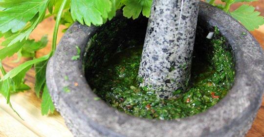 Rezept: Chimichurri – die Grillsoße aus Südamerika