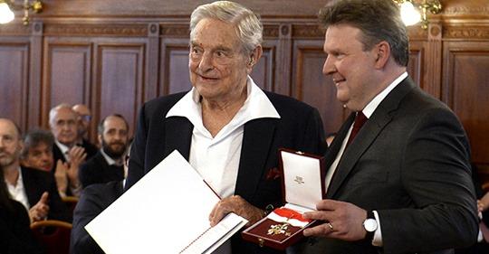 So feiert sich Ludwig für die Ansiedelung der Soros Uni