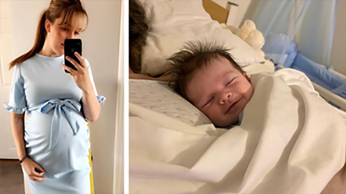 Säugling lächelt in den Armen seiner Teenager-Mama (†17) kurz bevor sie stirbt: 'Sie hat ihn so sehr geliebt'