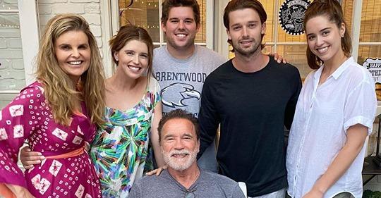 Arnold Schwarzenegger feiert 73. Geburtstag mit Kind & Kegel
