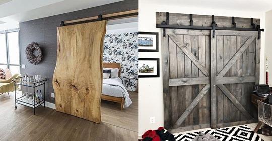 Was halten Sie von einer Schiebetür im Haus? 8 wunderbare Beispiele zur Inspiration.