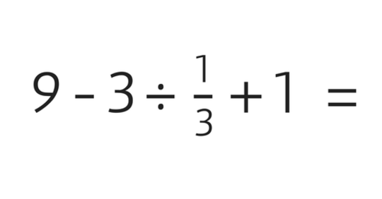 Diese Rechenaufgabe ist schwieriger zu lösen, als Sie vielleicht meinen! Können Sie sie lösen, ohne abzugucken …?