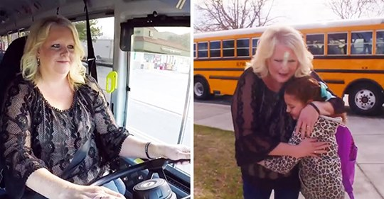 Eine Busfahrerin macht einem 11jährigen Mädchen jeden Tag einen Zopf, nachdem die Mutter verstorben ist