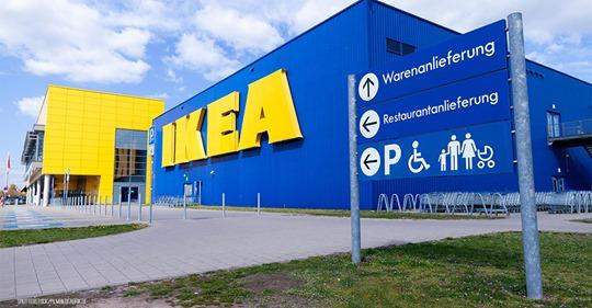 Ikea-Filiale wirft Blinden raus und zeigt ihn an: Kunde hatte Attest & Pflegebegleitung