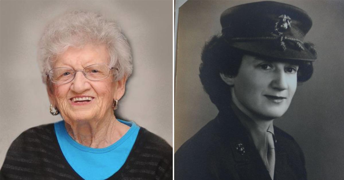 Älteste, überlebende Marinesoldatin feiert ihren 107. Geburtstag – Gratulation Sergeant Dot Cole