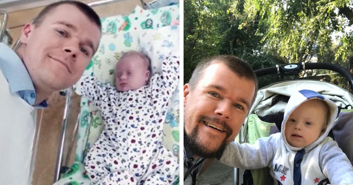 Mutter möchte Sohn mit Down Syndrom ins Pflegeheim geben – Vater lässt das nicht zu und zieht ihn allein groß