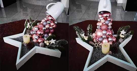 Weihnachtskugeln brauchen nicht immer im Baum zu bummeln… Das zeigen Ihnen jetzt diese Dekorationsideen!