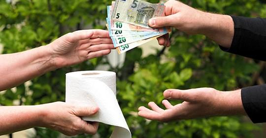 """Toilettenpapier: Das """"weiße Gold"""" ist wieder gefragt"""