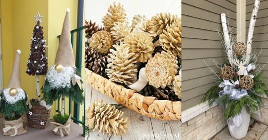Tolle, aber einfache Herbstdekorationen, die Sie leicht selbst machen können!