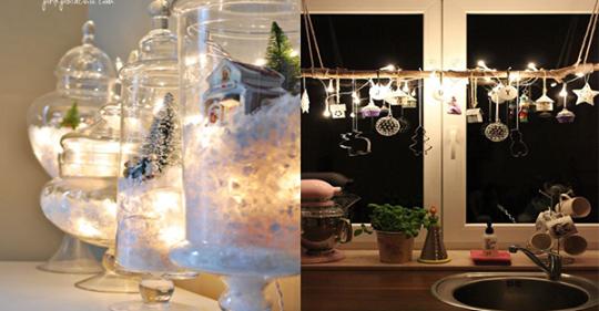 Um die Weihnachtsbeleuchtung nur in einem Baum zu hängen, ist wirklich schade! Sehen Sie sich diese wunderbaren Ideen jetzt an!