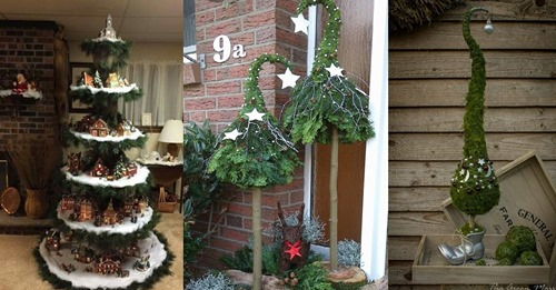 Möchtest du einen Weihnachtsbaum, den wirklich noch niemand hat? Schau dir schnell diese 12 besonderen Weihnachtsbäume an!