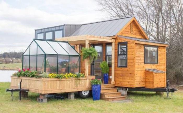 Dieses 'Tiny House' hat eine Fläche von nur 30 Quadratmetern! Aber man den Innenraum sieht, möchte man direkt umziehen!