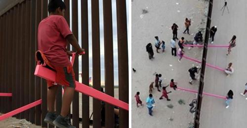 Wippe an der Grenze zwischen den USA und Mexiko gewinnt Design des Jahres 2020 Award