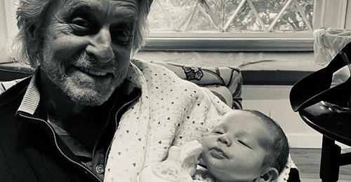 Einen Monat nach Geburt: Michael Douglas lernt Enkel kennen