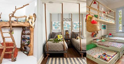 Ein Bett muss nicht unbedingt langweilig und eintönig aussehen, was diese 8 schönen Kinderbetten zeigen!