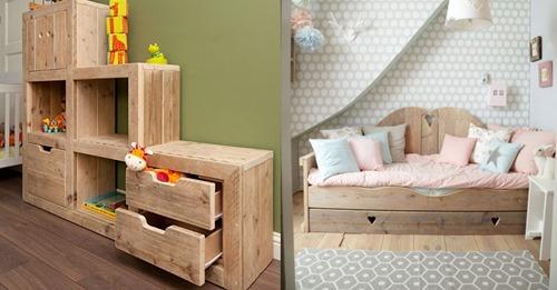 Aus Gerüstholz können Sie die schönsten Möbel machen! Werfen Sie einen Blick auf diese wunderbaren DIY-Ideen!